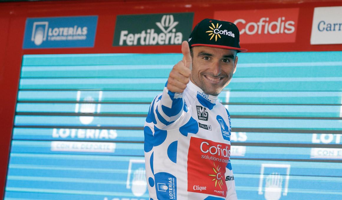 Luis Maté hace números para el maillot de la montaña