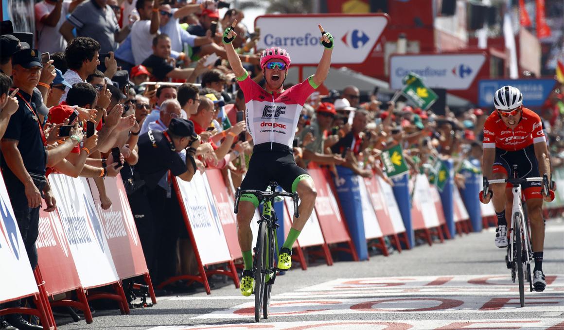 Victoria de Simon Clarke; Rudy Molard, nuevo líder de La Vuelta