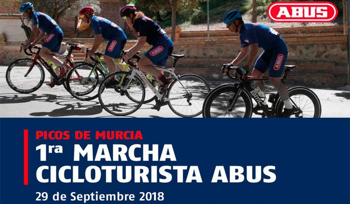 I Marcha Cicloturista ABUS-Picos de Murcia