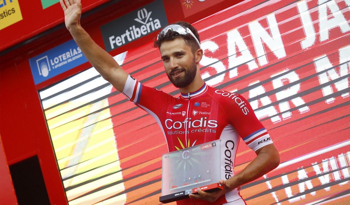 """Bouhanni: """"Estoy honrado por ganar otra vez en la Vuelta"""""""