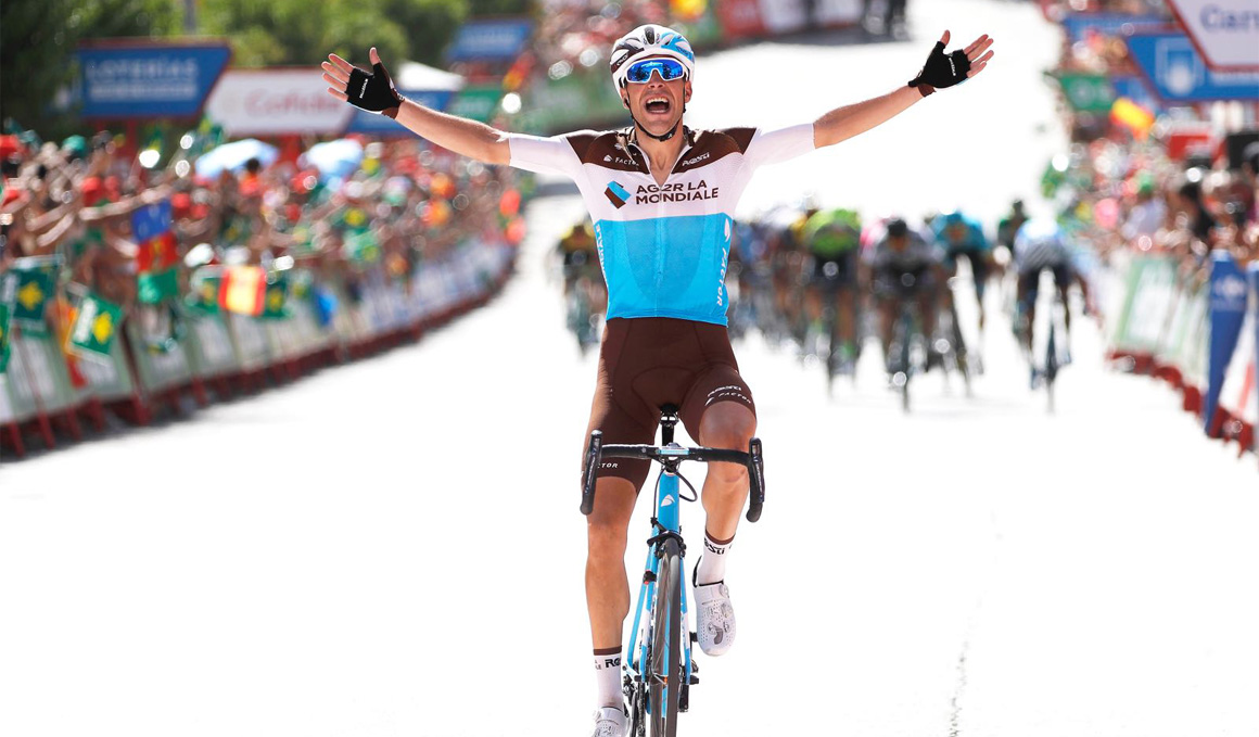 La Vuelta habla francés