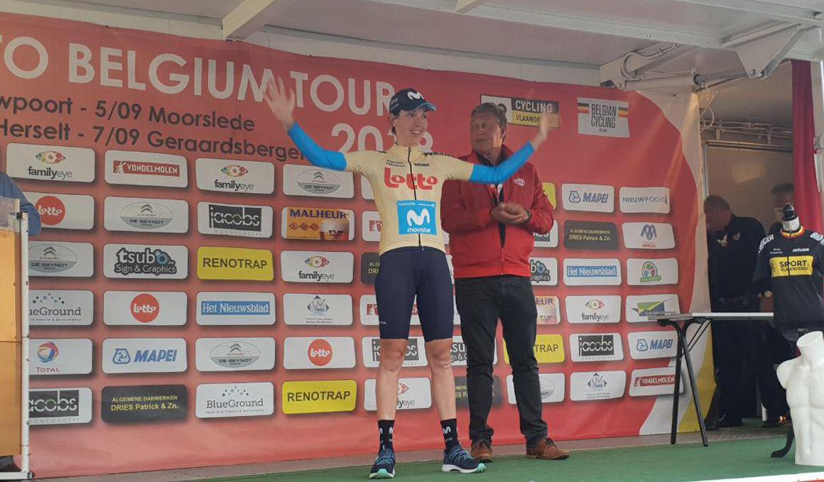 Biannic, primera victoria UCI para Movistar Team