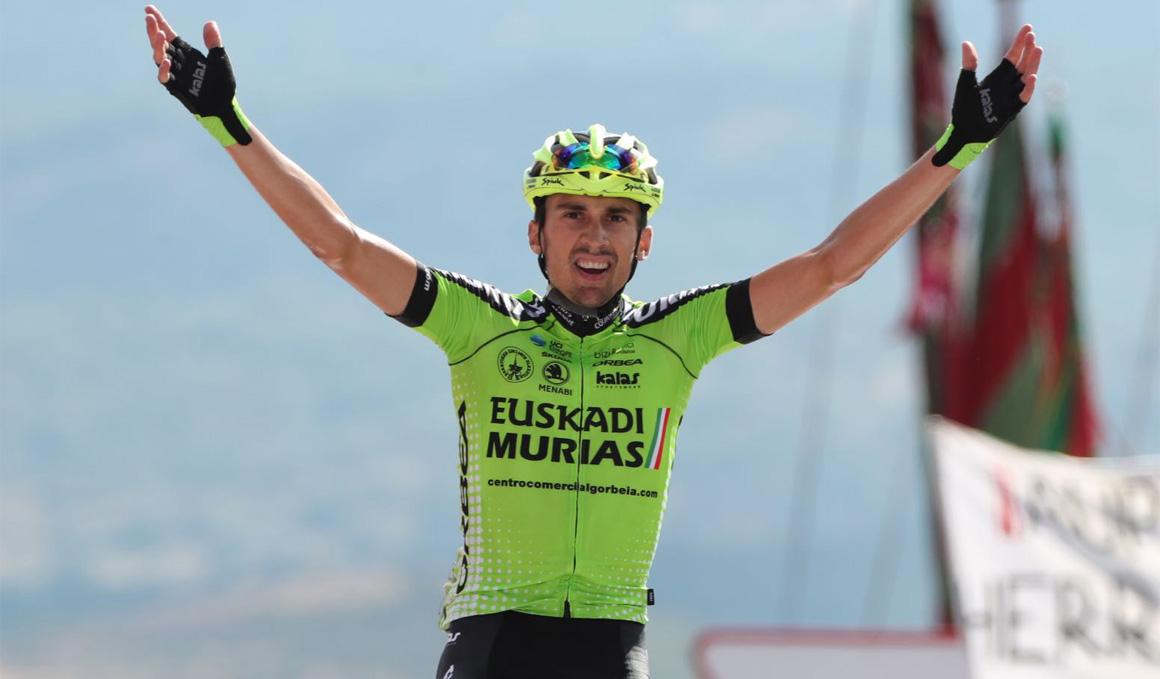 Óscar Rodriguez lleva a la gloria al Euskadi-Murias