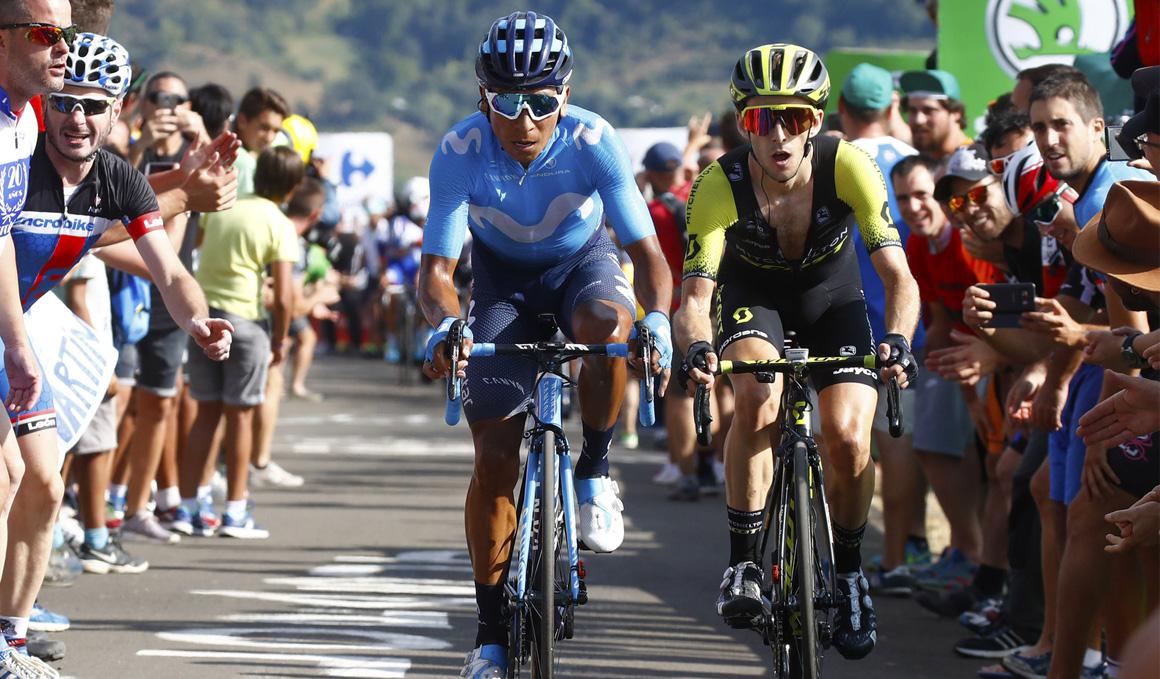 "Nairo Quintana: ""Hoy ha empezado otra Vuelta"""