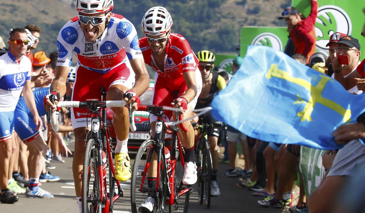 """Jesús Herrada: """"Eran rampas muy duras para ciclistas como yo, de 70 kilos"""""""