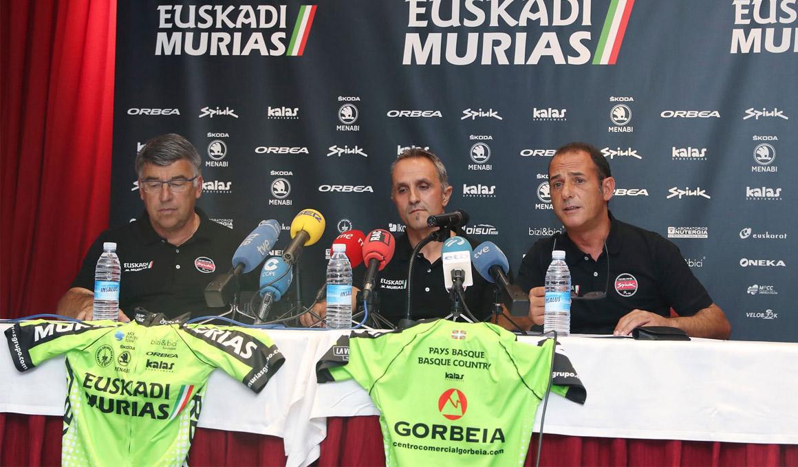 Euskadi-Murias seguirá como Continental Profesional en 2019