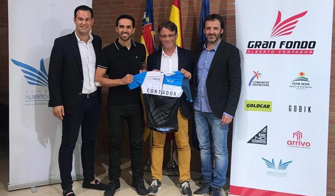 Presentada la Marcha Alberto Contador