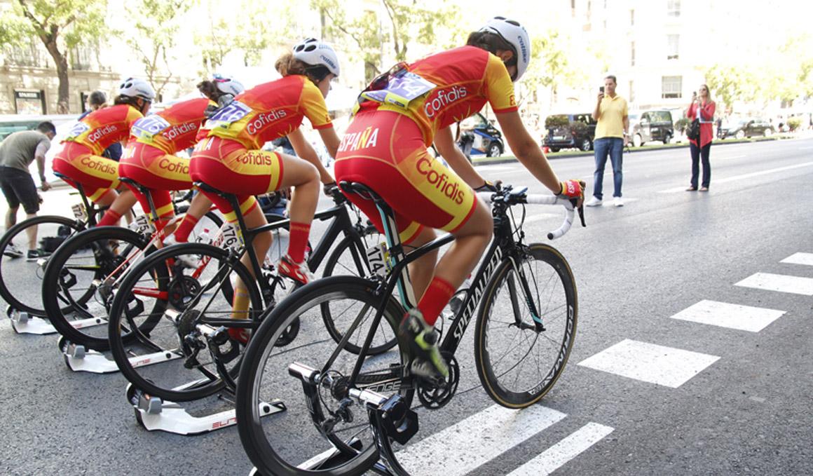 La Selección Española femenina disputa la Challenge by La Vuelta