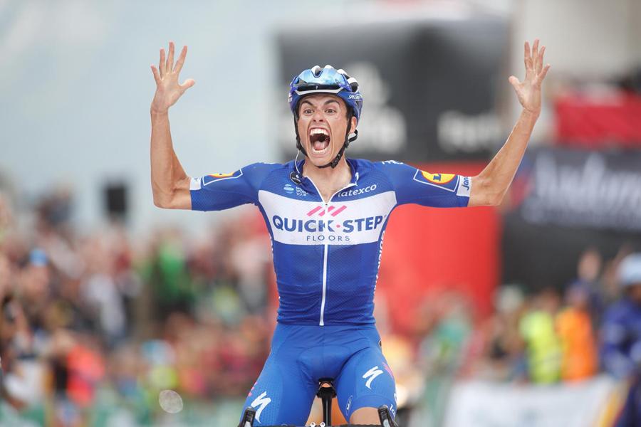 """Enric Mas: """"Soy joven, estoy disfrutando de la Vuelta y no tengo palabras"""""""
