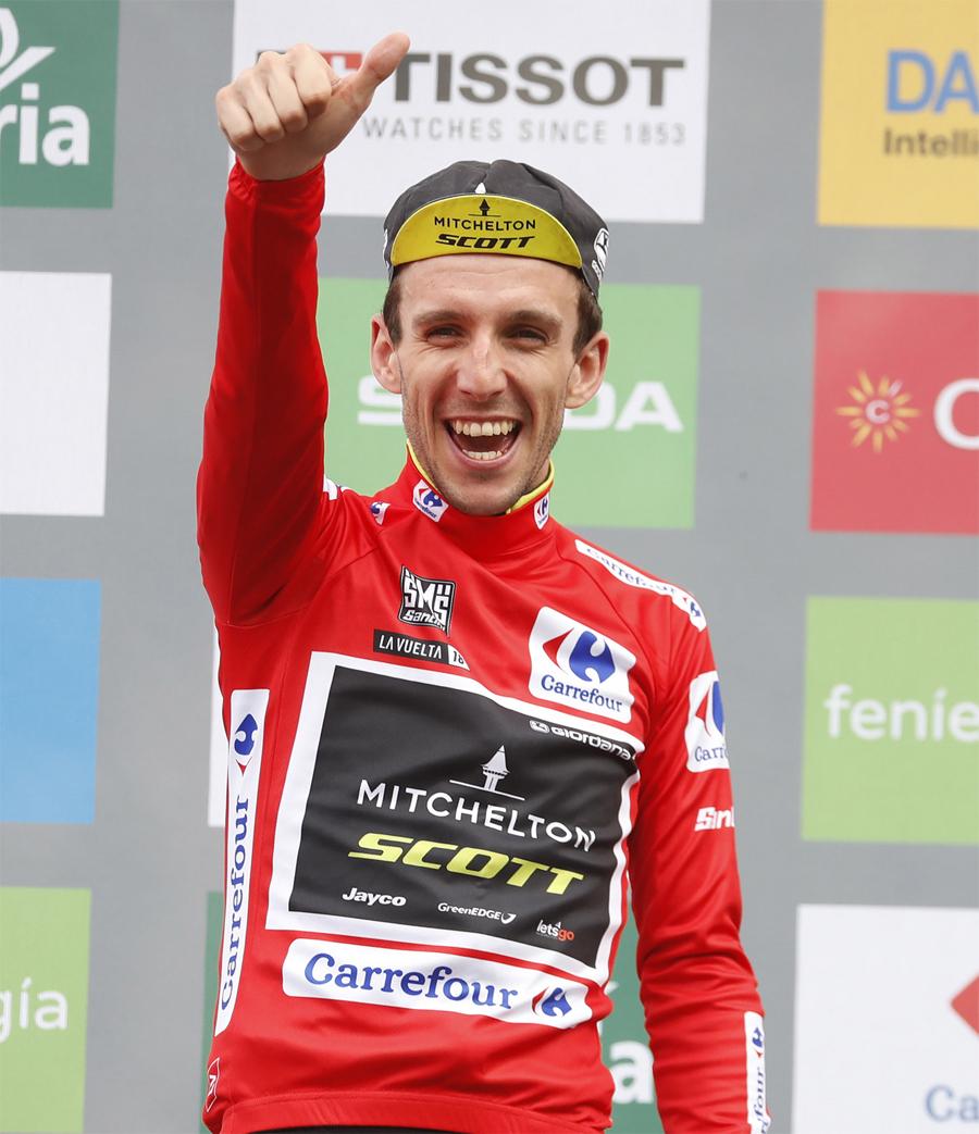 """Simon Yates: """"Es una victoria increíble, sobre todo después de perder el Giro"""""""