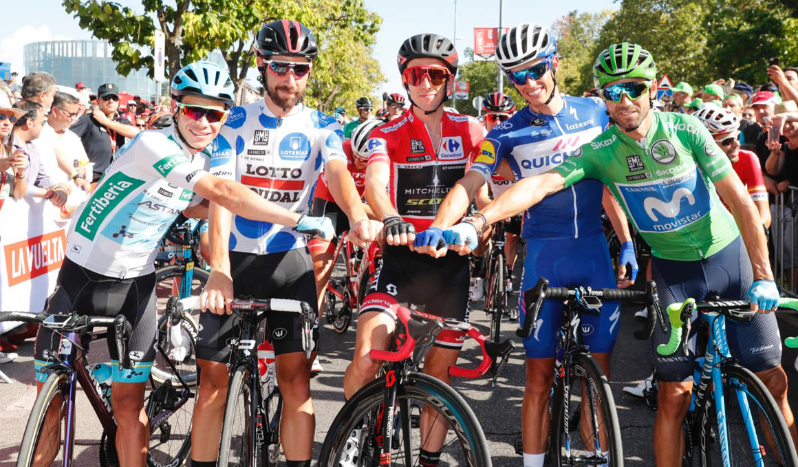 Las mejores imágenes del fin de fiesta de La Vuelta 2018