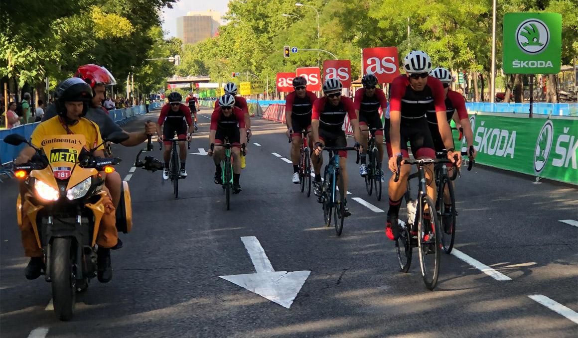 La experiencia de vivir desde dentro la última etapa de la Vuelta con Oakley®