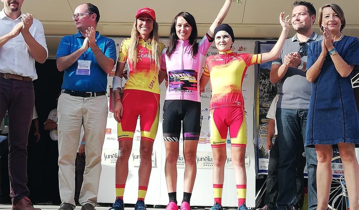 Mavi García y Eider Merino finalizan en el podio del Tour d'Ardeche
