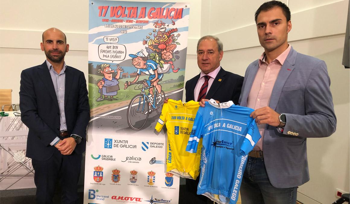 La Volta a Galicia arranca en Verín con una crono por equipos