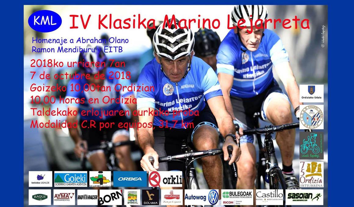 IV Klasica Marino Lejarreta: la fiesta del ciclismo