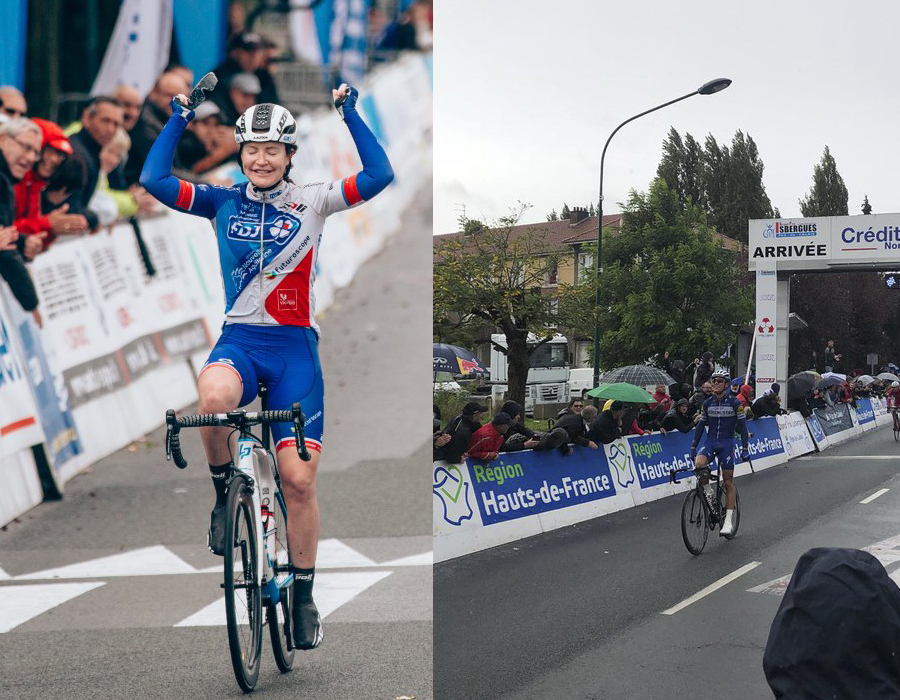El GP d´Isbergues corona a Lauren Kirtchen y Phillipe Gilbert