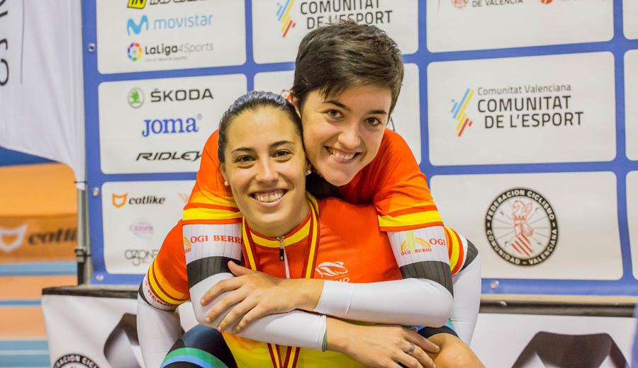 Tania Calvo cierra los Nacionales de Pista de Valencia con su tercer oro
