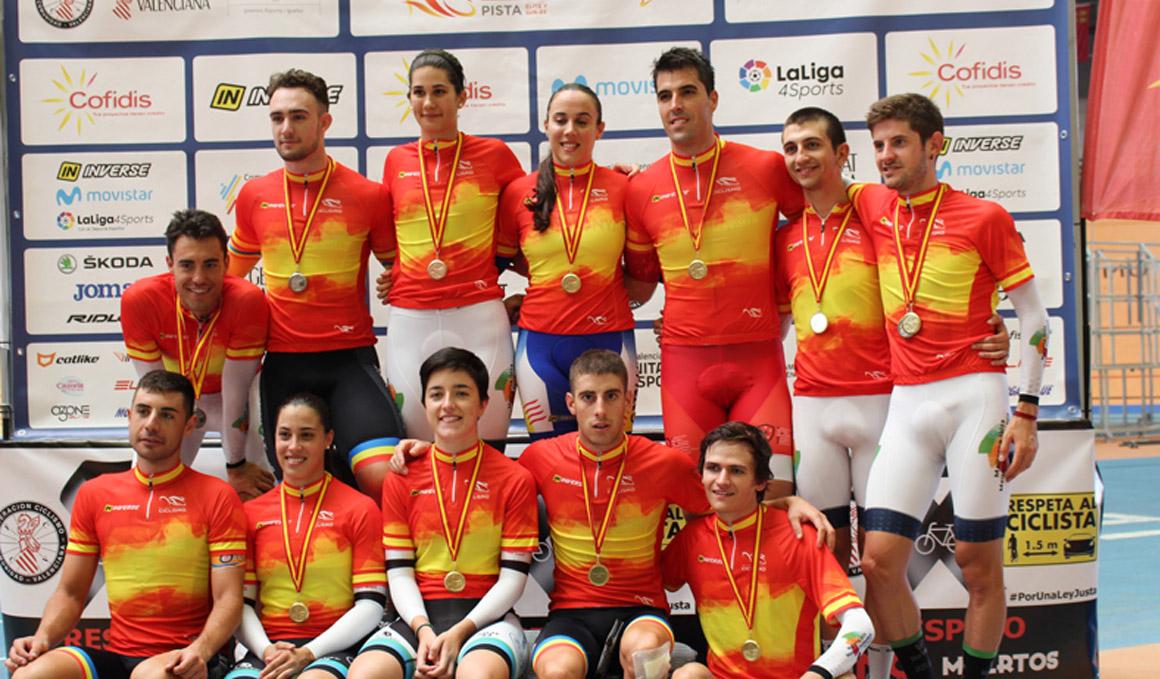 Finaliza un exitoso Campeonato de España de Pista
