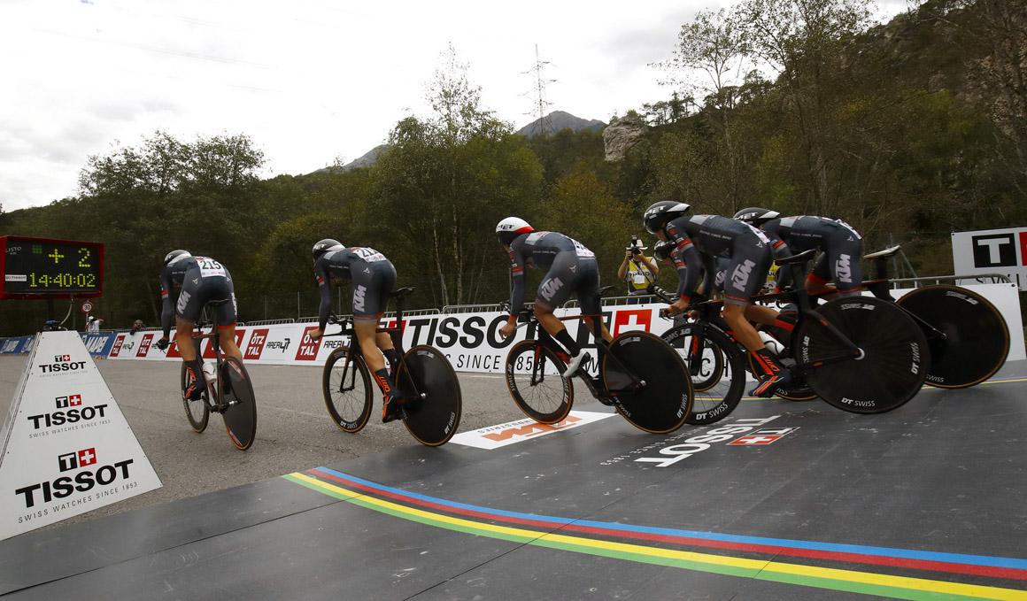 La UCI anuncia una nueva crono mixta por países para el Mundial 2019