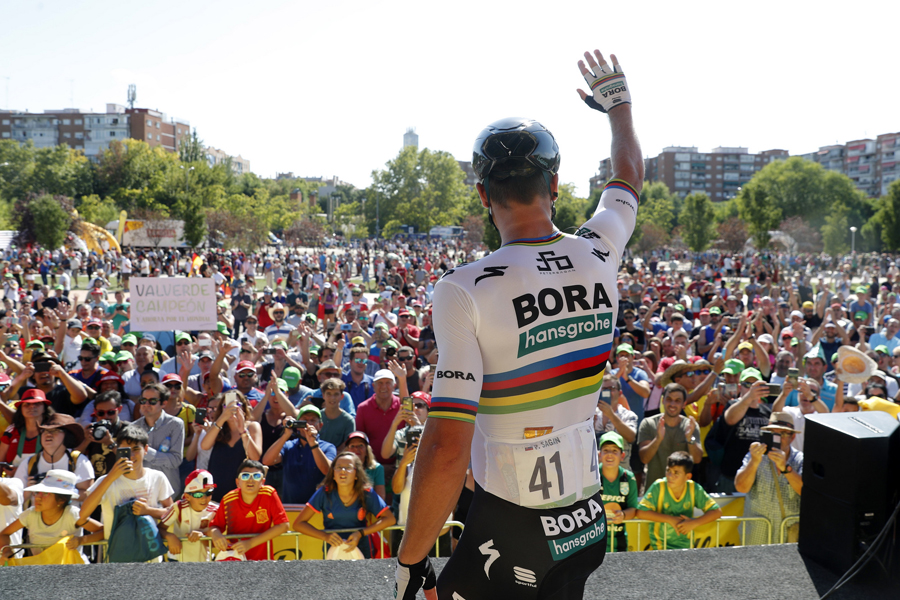 Peter Sagan renueva con el Bora-Hansgrohe hasta 2021