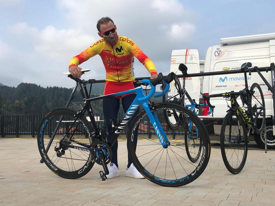 """Alejandro Valverde: """"¿Retirarme si gano mañana? ¡Ni de coña! Tendré que lucir el arcoíris, ¿no?"""""""