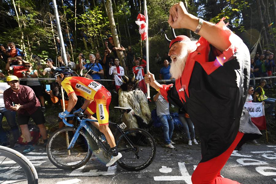 Alejandro Valverde se hace con su oro más buscado y deseado