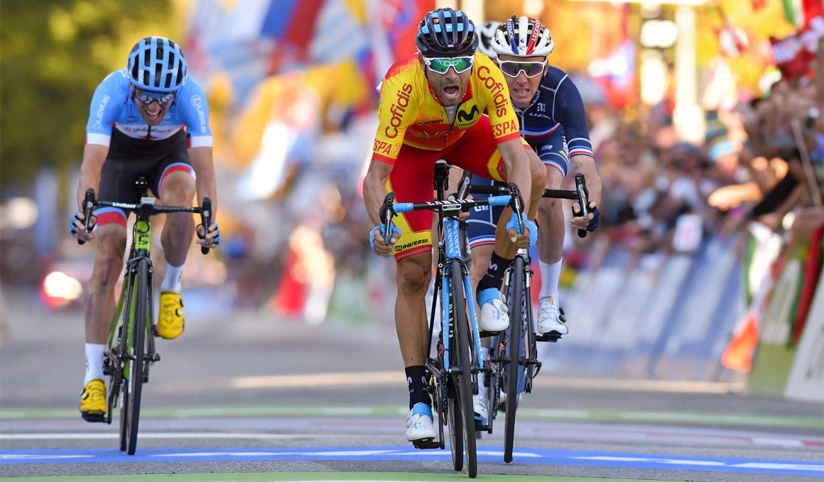 Valverde, el ciclista que no se cansa de ganar