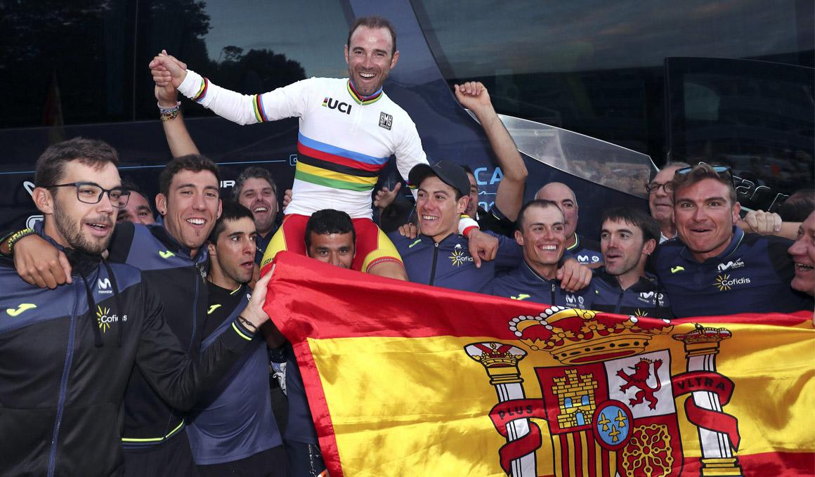 Así se gestó el arcoíris de Valverde