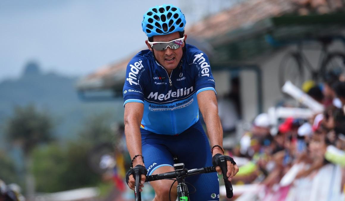 Óscar Sevilla, primer líder de la Vuelta a Ecuador