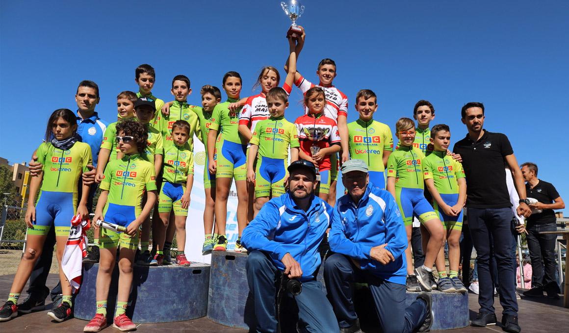 Éxito de la II Carrera de Escuelas de la Fundación Alberto Contador