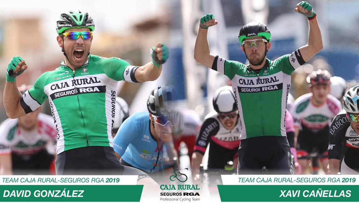 Cañellas y González promocionan al equipo profesional de Caja Rural