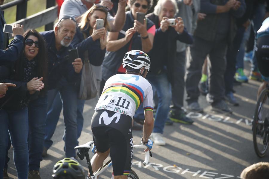 """Alejandro Valverde: """"He notado un poquito el cansancio"""""""