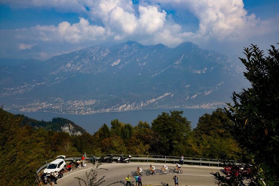 Los mejores momentos del Giro de Lombardía 2018