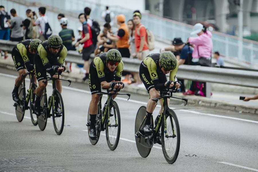 El Mitchelton-Scott, ganador final de las Hammer Series 2018