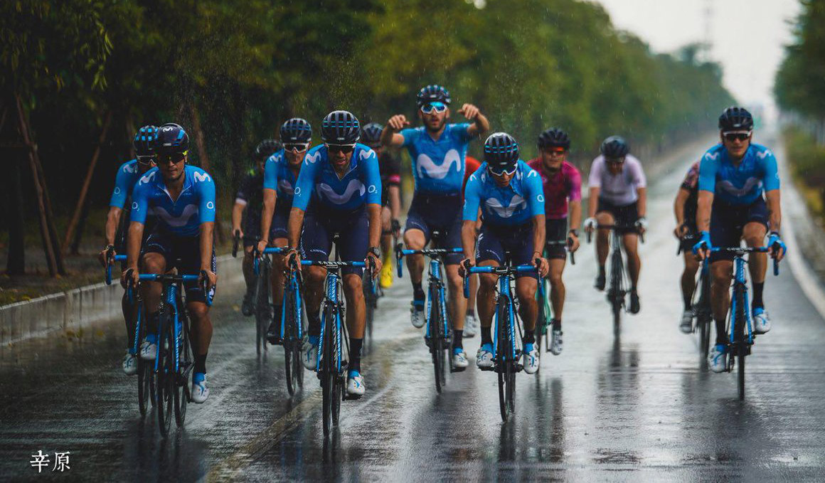 Movistar Team despide la temporada en el Tour de Guangxi (China)