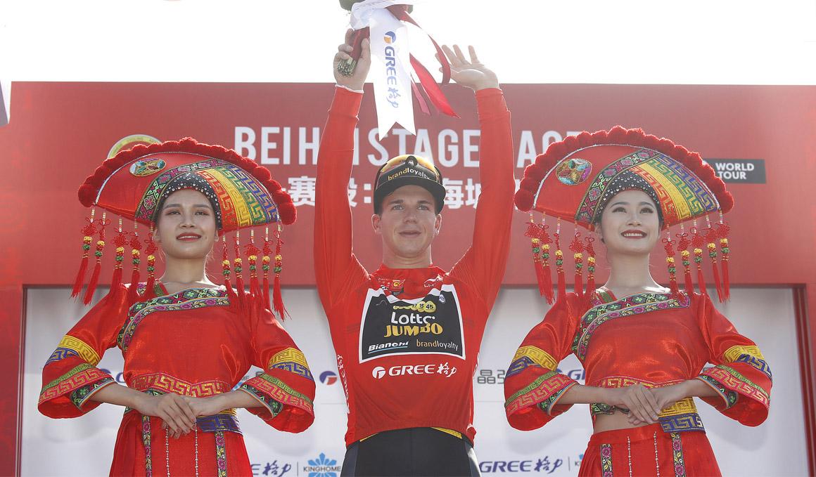Groenewegen, primer líder del Tour de Guangxi