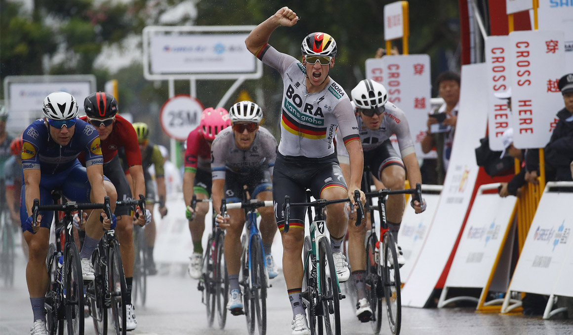 Tour de Guangxi: Ackerman gana al esprint la 2ª etapa