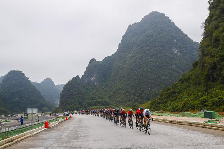 Un acercamiento paisajístico al Tour de Guangxi