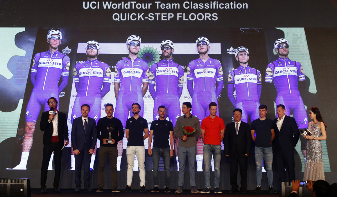 Quick-Step Floors, nº 1 del World Tour en 2018