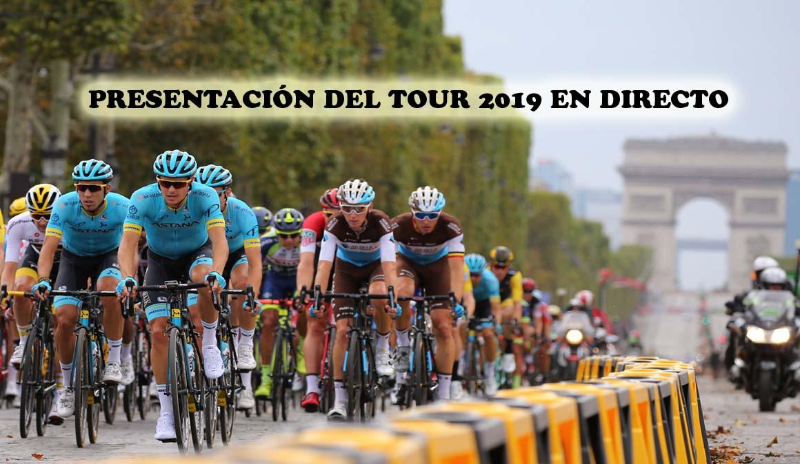 En directo la presentación del Tour de Francia 2019