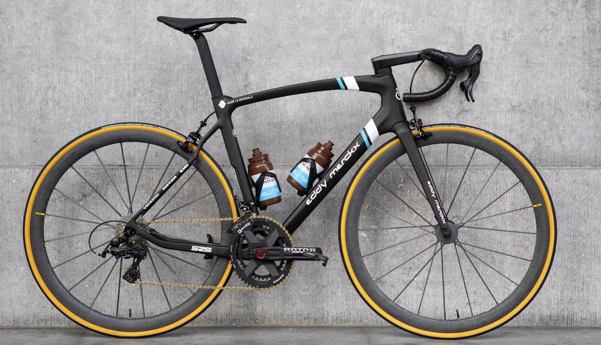 El Ag2r La Mondiale utilizará bicicletas Eddy Merckx