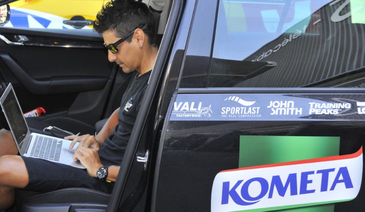 """Jesús Hernández: """"Polartec-Kometa ha dado muy buena imagen toda la temporada"""""""