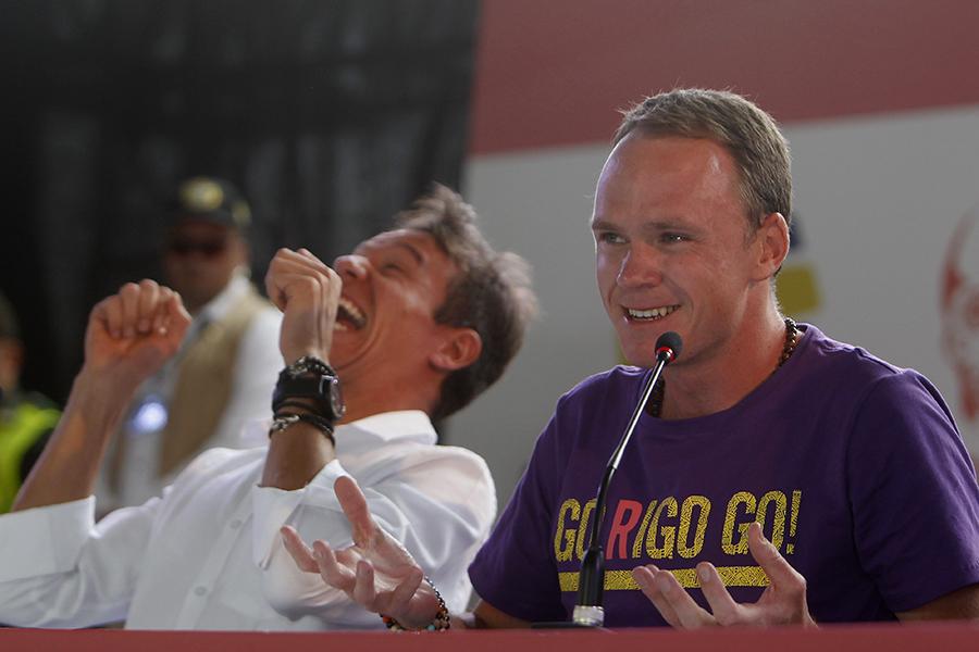 Chris Froome piensa en su quinto Tour y no descarta correr en Colombia