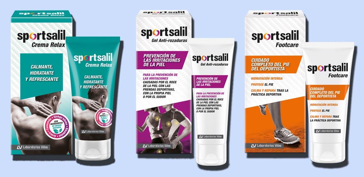 Crece la gama Sportsalil con nuevos cuidados para el deportista