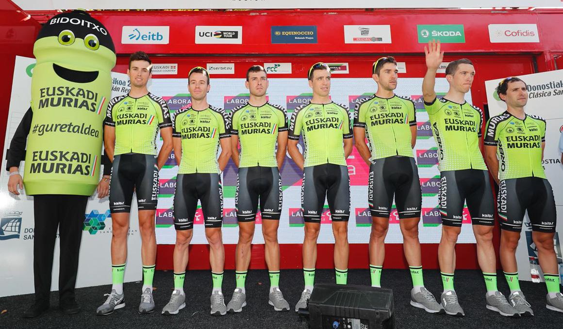 Euskadi-Murias cierra, con 20 ciclistas, su plantilla para 2019