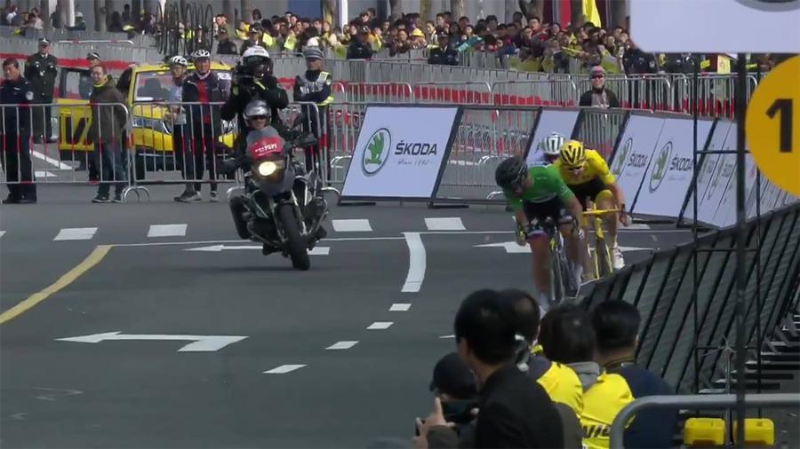 El eslovaco Peter Sagan se impone en el Shanghái Criterium
