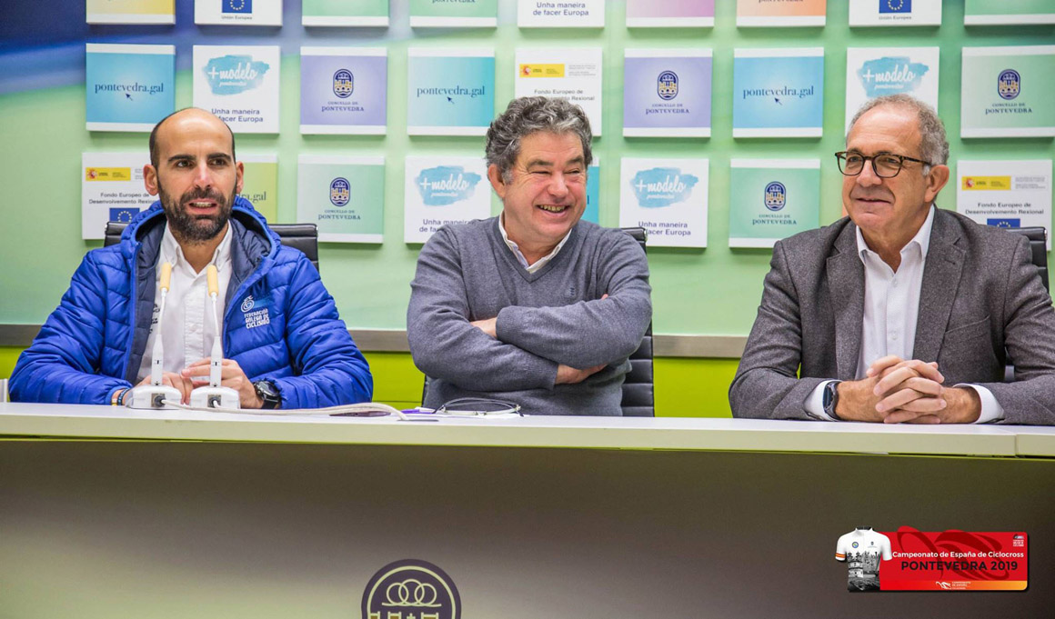 Presentado en Pontevedra el Campeonato de España de Ciclocross 2019