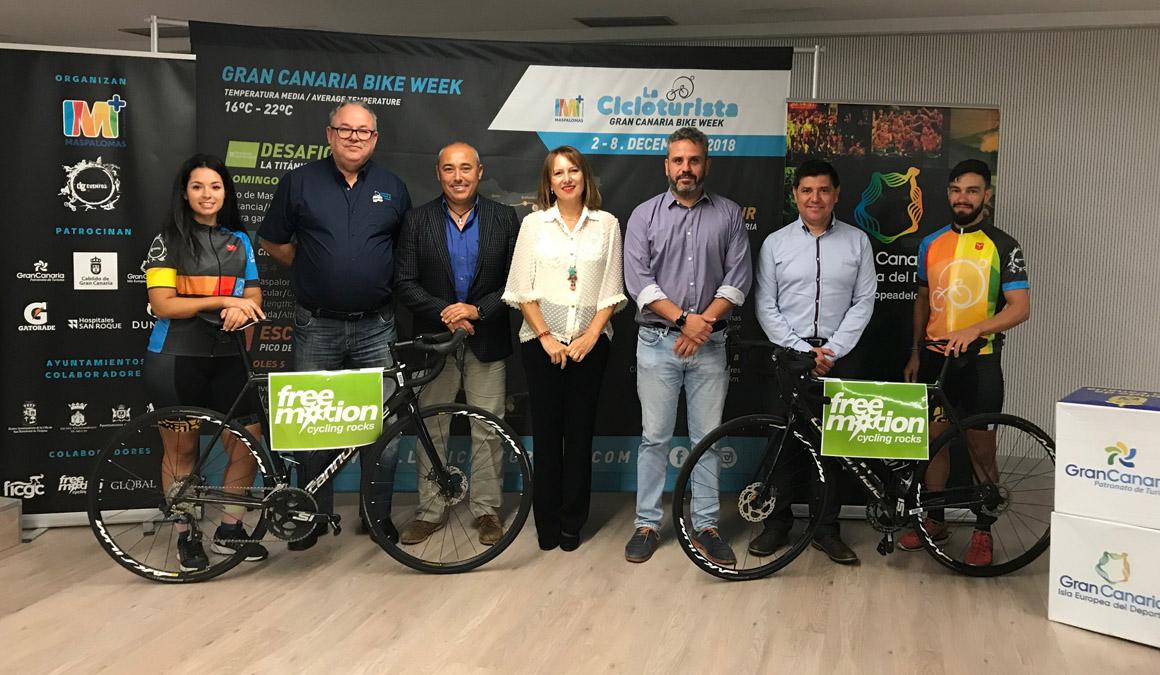 La Cicloturista Gran Canaria Bike Week duplicará la participación en su 30 edición