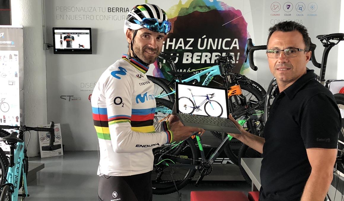 La Fundación Valverde Team con Berria