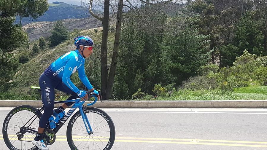 Nairo Quintana, debut en San Juan